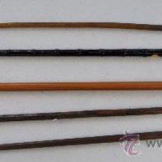 Antigüedades: LOTE DE 5 BASTONES. Lote 35539185