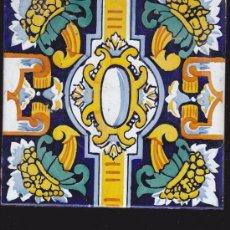 Antigüedades: AZULEJOS CERAMICOS-REALIZADO A MANO. Lote 35394511