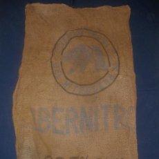 Antigüedades: ANTIGUO SACO DE ABONO -IBERNITRO-.SOCIEDAD IBERICA DEL NITROGENO.. Lote 35404153