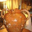 Antigüedades: MUY RARA PIEZA DE ALFARERÍA PROBABLEMENTE ARAGONESA. Lote 35454507