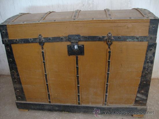 Baul antiguo para restaurar comprar ba les antiguos en for Antiguedades para restaurar
