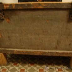Antigüedades: ARCA ANTIGUA DE MADERA, PARA RESTAURAR. Lote 35417874