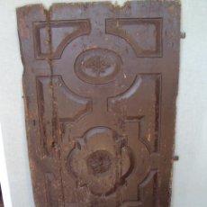 Antigüedades: ANTIQUISIMA PUERTA GÓTICO TARDÍO. Lote 35425196