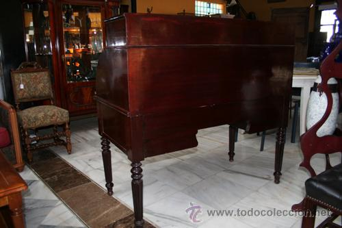 Antigüedades: BURÓ LUIS FELIPE EN CAOBA REF.5376 - Foto 5 - 35428351