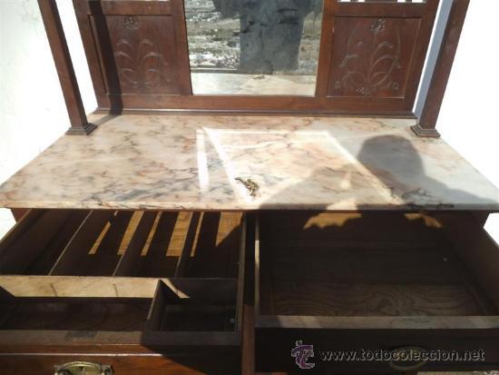 Antigüedades: mueble aparados artenova con azulejos en las puertas - Foto 4 - 35426317