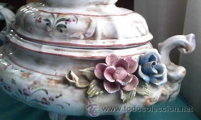 Espectacular centro de mesa en ceramica portugu comprar Ceramica portuguesa online
