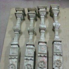 Antigüedades: COLUMNAS DE RETABLO. Lote 35437255