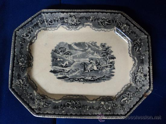 ANTIGUA FUENTE SIGLO XIX. CARTAGENA. (Antigüedades - Porcelanas y Cerámicas - Cartagena)