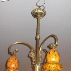 Antigüedades: LAMPARA ART NOUVEAU, ART DECÓ. FRANCIA.. Lote 35458221