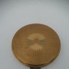 Antigüedades: POLVERA METAL DORADO. Lote 35472396