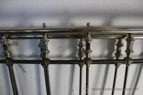 Antigüedades: Cabeceros de cama de metal - Foto 3 - 35559270
