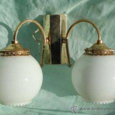 Antigüedades: BONITO APLIQUE DORADO.. Lote 49756007