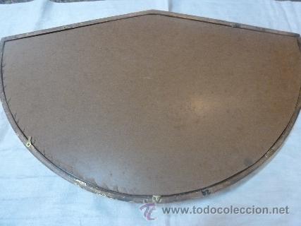 Antigüedades: abaniquera de madera en pan de oro - Foto 5 - 48100206