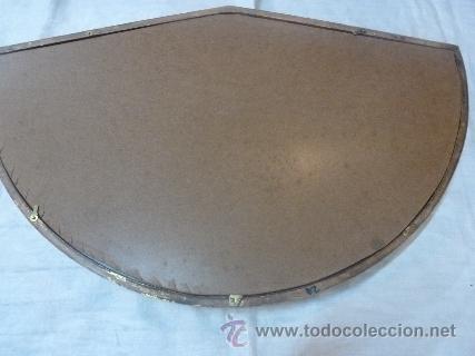 Antigüedades: abaniquera de madera en pan de oro - Foto 3 - 42137845