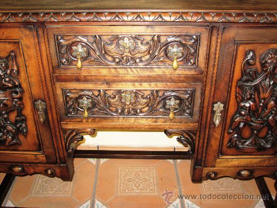 Promocion precioso y elegante mueble auxiliar comprar for Muebles estilo italiano