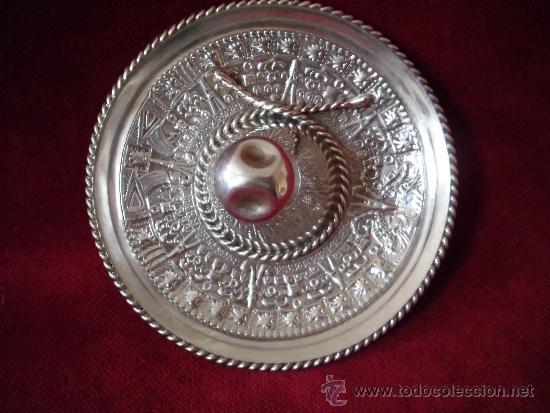 Antigüedades: SOMBRERO DE PLATA 925 MEXICO - Foto 4 - 101033635