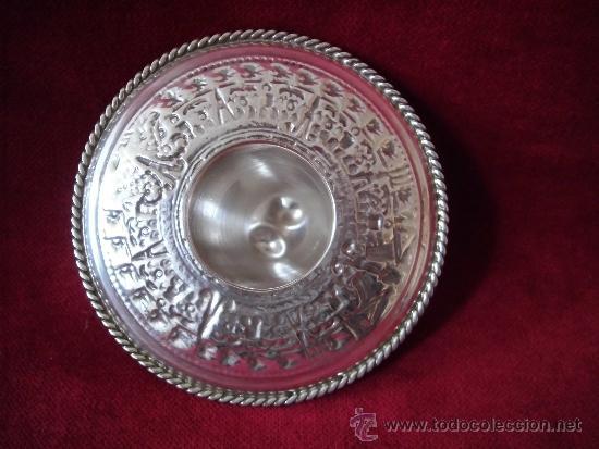 Antigüedades: SOMBRERO DE PLATA 925 MEXICO - Foto 5 - 101033635