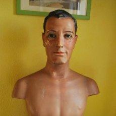 Antigüedades: MANIQUÍ - BUSTO DE HOMBRE - MANIQUÍES Y BUSTOS A. LLEDÓ (BARCELONA) - AÑOS 40. Lote 35523092