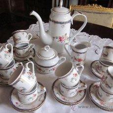 Antigüedades: JUEGO PARA CAFÉ DE 12 SERVICIOS TENTACIONES. Lote 35551483