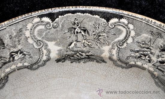 Antigüedades: GRAN FUENTE EN CERÁMICA DE CARTAGENA CON VARIOS SELLOS. SIGLO XIX. 36 CM. DIÁMETRO - Foto 9 - 36018179