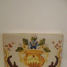 Antigüedades: AZULEJO DE ALCORA.SIGL0 XVIII.VALENCIA. Lote 35525879