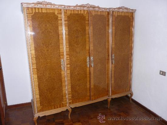 ARMARIO HABITACIÓN ART DECO (Antigüedades - Muebles Antiguos - Armarios Antiguos)