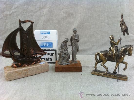Lote de 3 objetos antiguos para decoracion en c comprar for Objetos de decoracion online