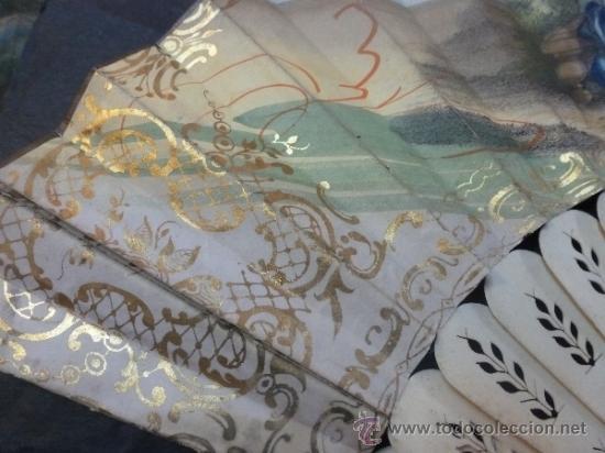 Antigüedades: abanico de hueso y oro isabelino - Foto 19 - 35546766