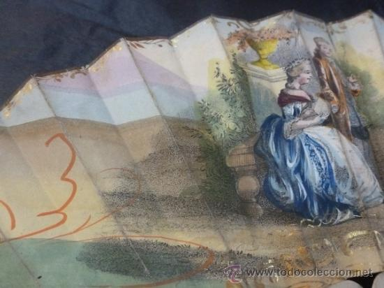Antigüedades: abanico de hueso y oro isabelino - Foto 18 - 35546766