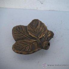 Antigüedades: PEQUEÑO CENICERO DE BRONCE. Lote 35572270