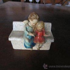Antigüedades: CAJA JOYERO CON FIGURAS. Lote 35581468