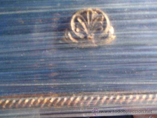 Antigüedades: Espejo artesano 48 x 33 cm. - Foto 3 - 35582662