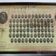 Antigüedades: BANDEJA OBSEQUIO BANDA UNION MUSICAL VALENCIA DÉCIMO ANIVERSARIO 1916-1926. Lote 35587288