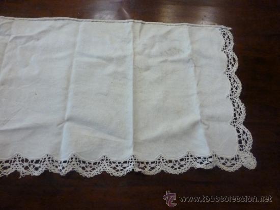 Antigüedades: tapete mantel tela - Foto 7 - 35611468