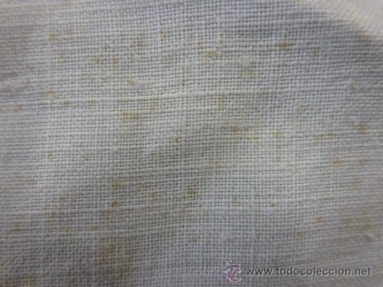 Antigüedades: tapete mantel tela - Foto 2 - 35611429