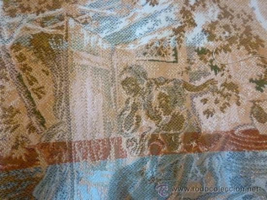 Antigüedades: tapiz a maquina tela - Foto 8 - 35611223