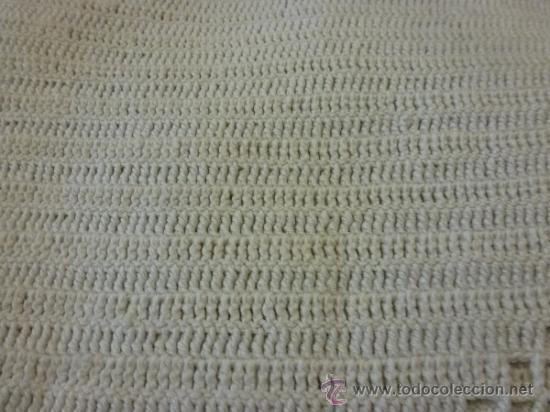 Antigüedades: colcha cubrecama tela - Foto 2 - 35611164