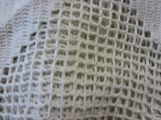 Antigüedades: colcha cubrecama tela - Foto 3 - 35611164