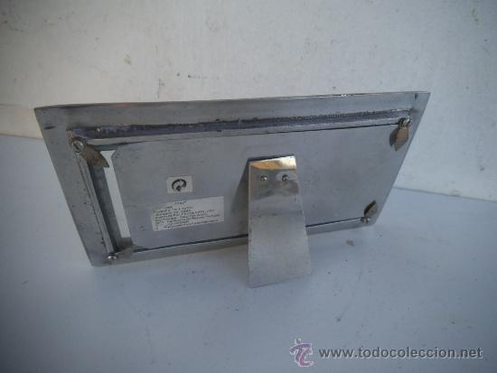 Antigüedades: portafotos de estaño - Foto 2 - 35593974