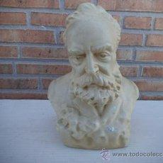 Antigüedades: BUSTO DE CERAMICA. Lote 35594792