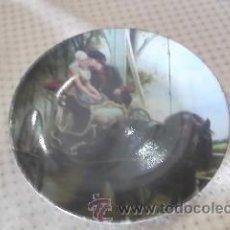 Antigüedades: PLATO DE COLECCIÓN T LIMOGES. ESCENA ROMÁNTICA.. Lote 35595398