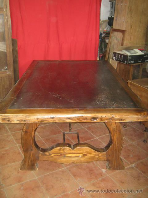 espectacular mesa de comedor de estilo rústico - Comprar Mesas ...