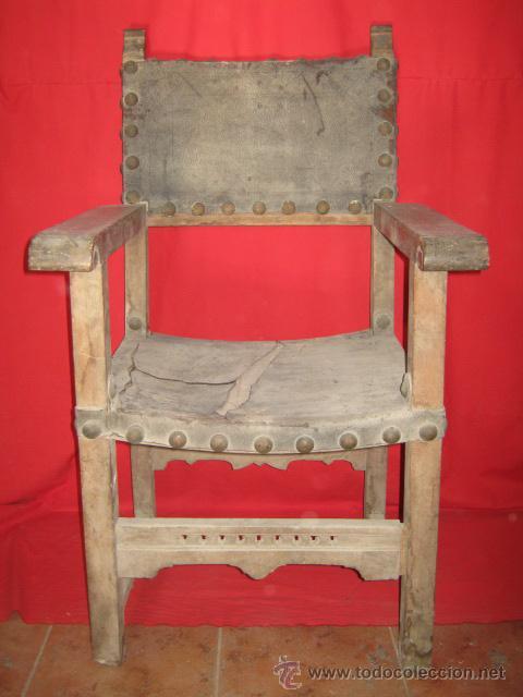 antiguo silln de nogal para restaurar antigedades muebles antiguos sillones antiguos