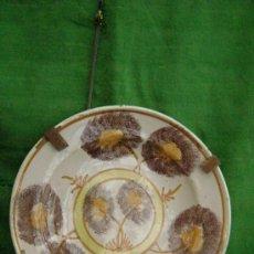 Antigüedades: PLATO DE RIBESALBES.SIGLO XIX. Lote 35607431