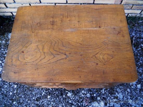 Mesilla en madera de casta o maciza con cuatro comprar - Madera de castano ...