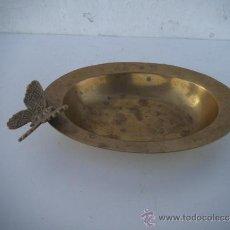 Antigüedades: CENICERO DE METAL. Lote 35636713