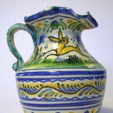 Antigüedades: BONITA JARRA CERAMICA DE TRIANA . Lote 35639329