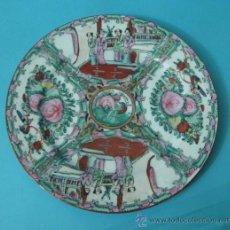 Antigüedades: PLATO DIÁMETRO 26 CM. MARCA EN REVERSO CON CARACTERES ORIENTALES. Lote 35644368