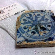 Antigüedades: ANTIGUO AZULEJO DE COLECCIÓN.. Lote 35644888