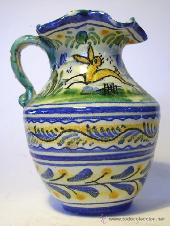 Antigüedades: BONITA JARRA CERAMICA DE TRIANA - Foto 7 - 35639329